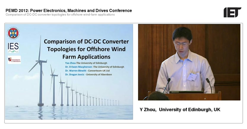 Comparison of DC-DC converter topologies for offshore wind-farm applications