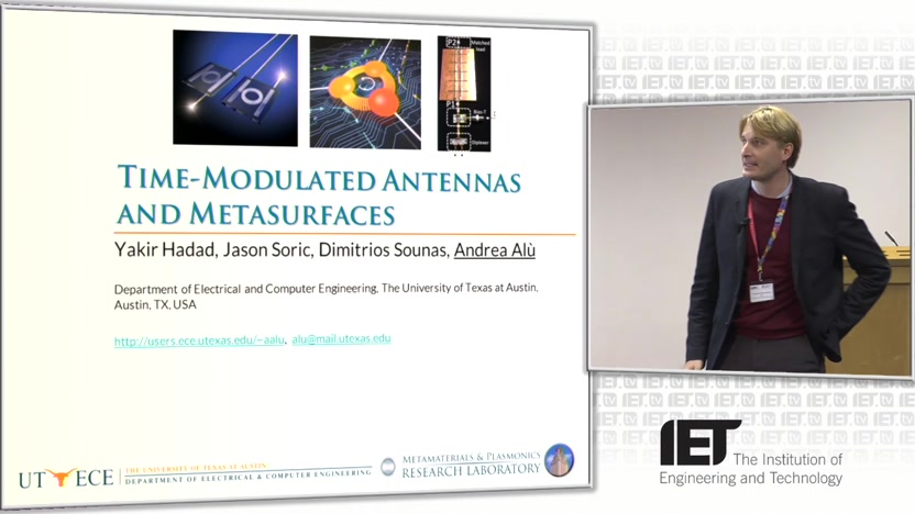 Time-Modulated Antennas and Metasurfaces