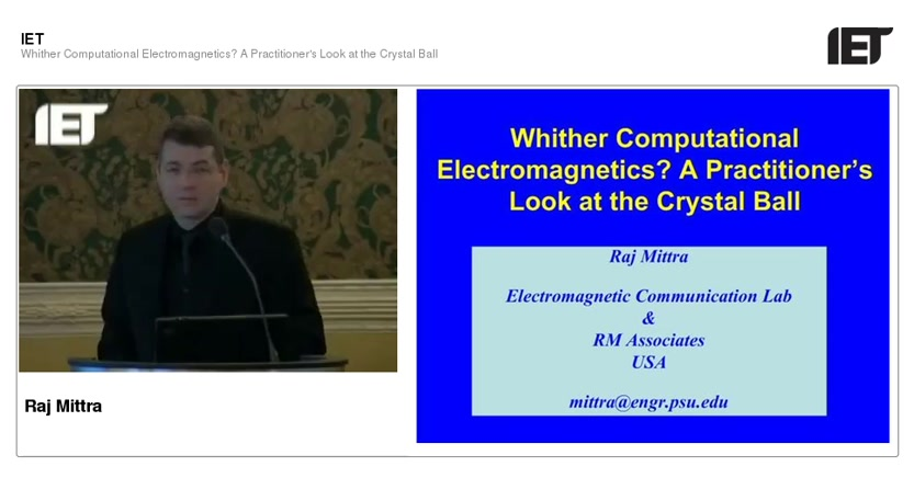 Whither computational electromagnetics? A practitioner's look at the  crystal ball