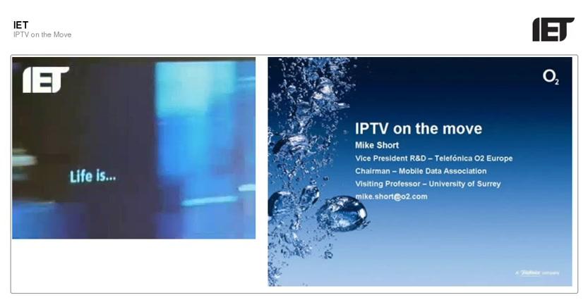 IPTV on the Move